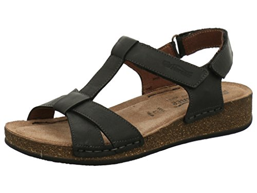 FLORANCE Women's 37-22012 Fashion Sandals Nero 7RPjHX