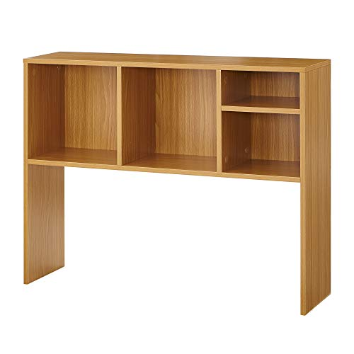 DormCo The College Cube - Desk Bookshelf - Beech Color (Slightly Scratched/Chipped)