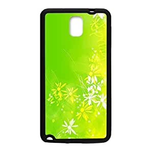 Bright Green Pattern Black Phone For Iphone 6 4.7 Inch Case Cover