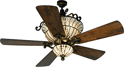 (Craftmade K10659 Ceiling Fan Motor with Blades Included, 52