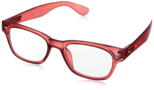 - Peepers Wayfarer Rainbow Bright Retro Reading Glasses,Red,2.5, 45 mm