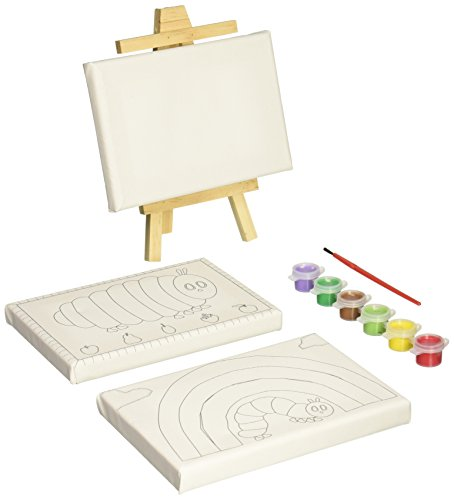 - Eric Carle The Very Hungry Caterpillar Canvas Postcard Painiting Set