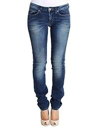 FIORUCCI Blue Wash Cotton Denim Stretch Slim Fit Jeans