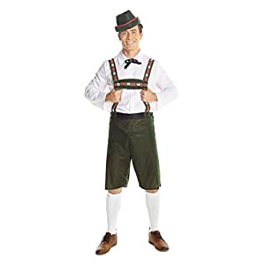 German Lederhosen Costumes for Men & Women Oktoberfest Dirndl Fancy Dress Costume