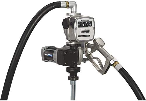 12 Volt DC Roughneck Heavy-Duty Fuel Transfer Pump with Mechanical ...