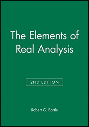 The elements of real analysis second edition robert g bartle the elements of real analysis second edition robert g bartle 9780471054641 amazon books fandeluxe Choice Image