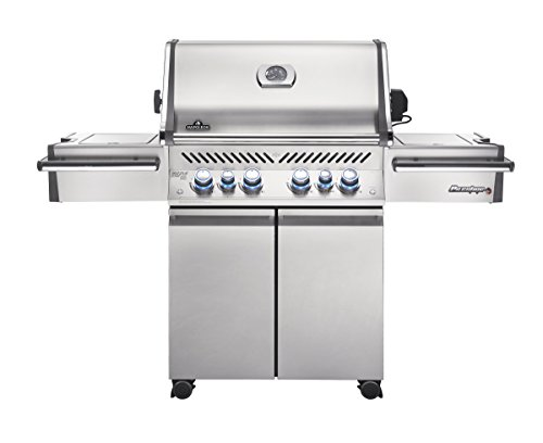 Napoleon Grills Prestige Pro 500 Propane Gas Grill, Stainless Steel (Thing On Top Of Car For Storage)