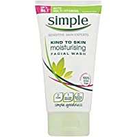 Simple Kind To Skin Facial Wash Moisturising, 150mL