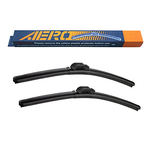 AERO Premium All-Season Beam Windshield Wiper Blades Replacement for Volkswagen Passat 2019-2006 24