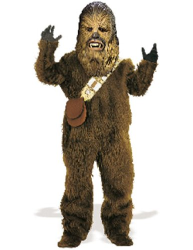 Rubie's Men's Star Wars Deluxe Chewbacca Costume, Size Standard