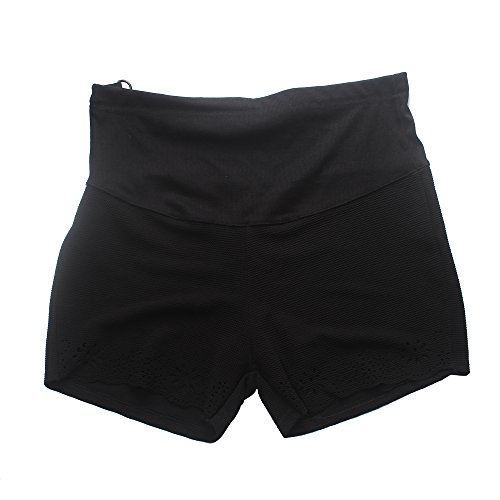 (Black Maternity Shorts Pants for Pregnant Women Size M)