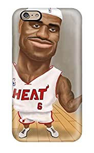 Specialdiy DanRobertse case cover For iPhone 5c With Nice Nba Basketball Artwork OMMMPEBBS2L Lebron James Miami Heat Appearance