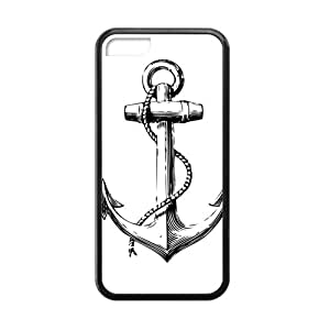 KKDTT Anchor Tattoos Cell Phone Case for Iphone 5C