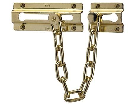 Yale Locks P1037PB Entrebâ illeur chainette Laiton (Import Grande Bretagne) YALP1037PB