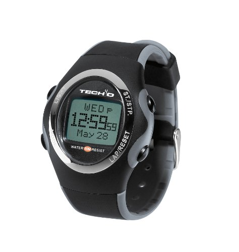 Tech4o Men's Accelerator Carbon Fitness - Watch (Carbon) by Tech 4 O