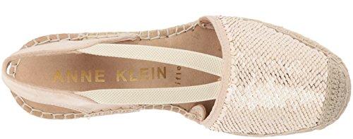 Multi Fabric Pink Light Klein Women Anne Espadrille Wedge Sandal Fabric Abbey RwnPqgpH