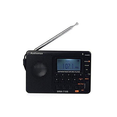 Audiomax SRW 710S Shortwave Portable Transceiver product image
