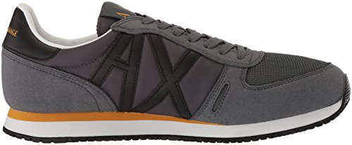 Exchange Men Armani Running Sneaker X Fashion A Grey Retro EqvxCtwn4