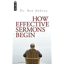 How Effective Sermons Begin