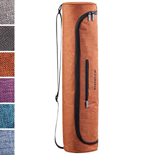 KeenFlex Yogatasche – Tasche für Yoga Matte – Wasserdichtes Gewebe – Komfortabel und Leicht