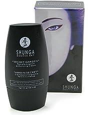 Shunga Jardín Secreto Crema Orgásmica, Color Negro - 30 ml