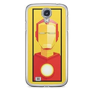 Iron Man Samsung Galaxy S4 Transparent Edge Case - Street Fighter Polygonal Collection