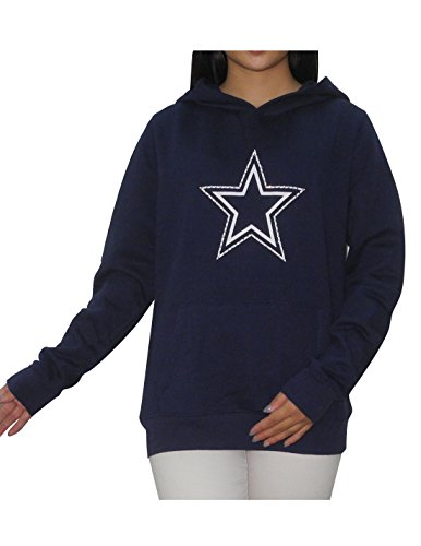 Pink Victoria's Secret NFL Dallas Cowboys Womens Glitter Hoodie