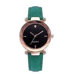 New Top Brand Women Bracelet Watch Contracted Leather Crystal Wristwatches Women Dress Ladies Quartz Clock C