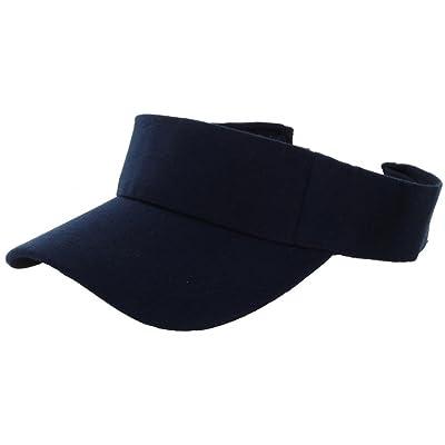 Navy_(US Seller)Outdoor Sport Hat Sun Cap Adjustable Velcro