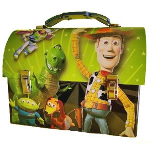 (Pixar TOY Story 3 Woody Dome Classic Kids Metal Lunch Box)