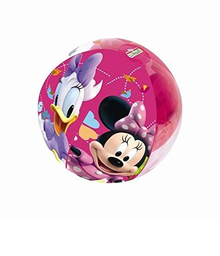 Pelota Balón hinchable 51 cm Minnie Ratón Minnie Mouse Playa ...