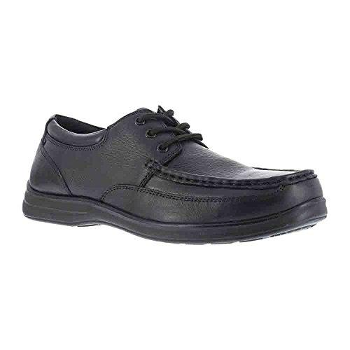 Florsheim Steel Toe Shoes - Florsheim Work Men's FS201 Wily Steel Toe ESD Oxford,Black,US 5.5 3E