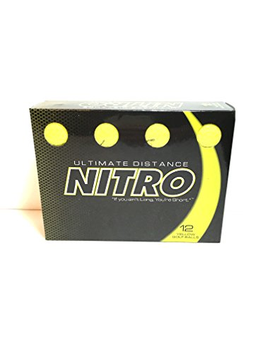 ultimate diatance nitro golf balls