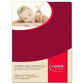 Jersey Multistretch Spannbetttuch 140x190-160x220 bis 25cm Matratzenhöhe # Weiß