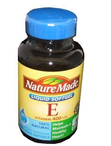 Nature Made Vitamine E 400 UI 225 Capsules naturelles