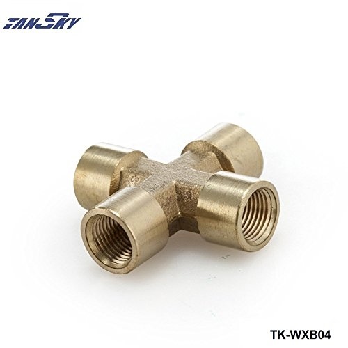 Braided Stainless Steel Turbo Inlet Feed Line 36