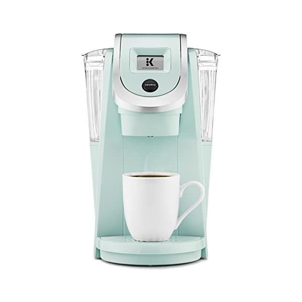 Keurig K250 Coffee Maker, Single Serve K-Cup Pod Coffee Brewer, With Strength Control, Oasis 1
