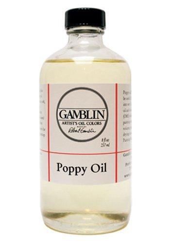 Gamblin Poppy Oil 8 oz.