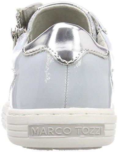 Marco Tozzi Mädchen 43202 Low-Top Blau (Sky Met. Comb)