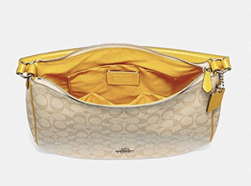 Buy coach purse gold brown leather