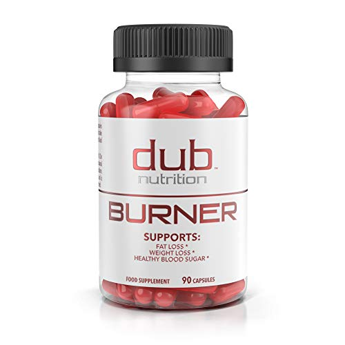 Cheap Fat Burner by dub Nutrition | Best Weight Loss Pills Thermogenic Supplement | Natural Energy and Appetite Suppressant, Includes Red Rasberry Ketones, Guarana, and BCAA. Healthy Blood Sugar Levels.