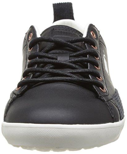 Puma Slim Court Rugged - Zapatillas de Deporte de cuero hombre negro - negro