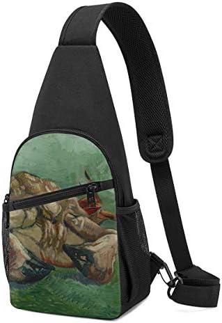 裏返しの蟹 斜め掛け ボディ肩掛け ショルダーバッグ ワンショルダーバッグ メンズ 多機能レジャーバックパック 軽量 大容量