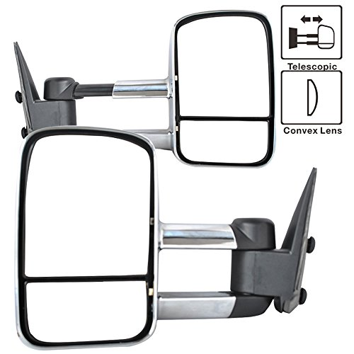 Chrome Exterior Mirror Housing - 9
