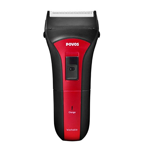 POVOS PS2203 Foil Shaver (Black/Red) Electric Shavers at amazon