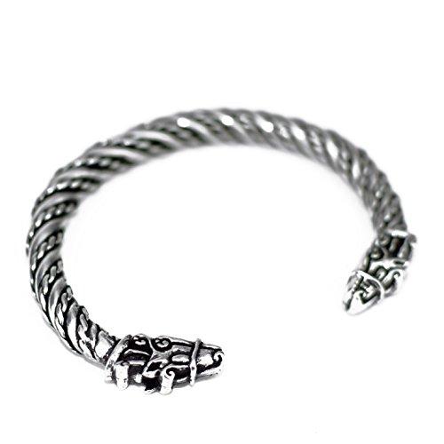 Small Horse Sleipnir Pewter Bracelet, (Pewter Kids Bracelets)
