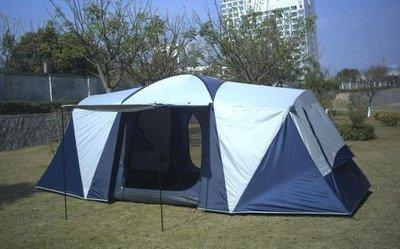 MCCOutdoor-doppelte camping Zelt wasserdicht Sonnenschutz 10-12 mehr als zwei Schlafzimmer drei Zimmer Zelt