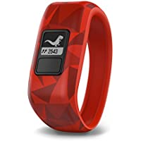 $69 » Garmin vívofit jr, Kids Fitness/Activity Tracker, 1year Battery Life, Red, Broken Lava