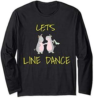 LINE DANCE Dance  Love Long Sleeve T-shirt   Size S - 5XL