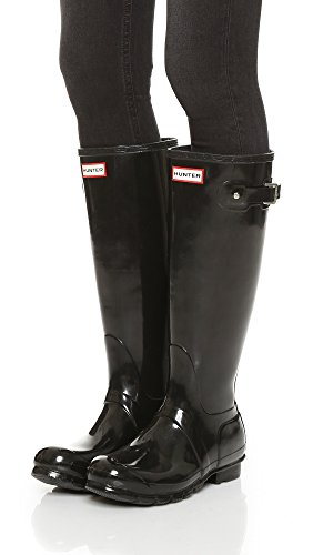Rain Original Hunter Tall Gloss Women's Boot Black vpq6O7
